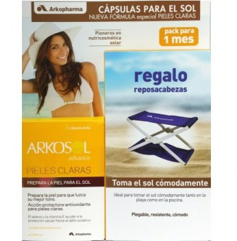 arkosol-advance-pieles-claras-30-caps