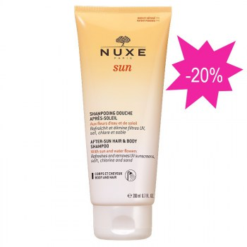 nuxe sun CHAMPU aftersun 200 ml9