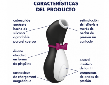 satisfyer penguin caract