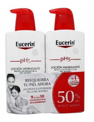 EUCERIN PIEL SENSIBLE PH5 LOCION DUPLO 2 X 400 ML