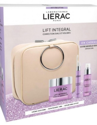 COFRE LIERAC LIFT INTEGRAL CREMA REMODELANTE 50 ML + SERUM LIFTING SUPERACTIVADO 30 ML + SERUM LIFTING OJOS Y PÁRPADOS 15 ML
