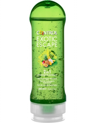 CONTROL EXOTIC ESCAPE MASSAGE GEL 200 ML