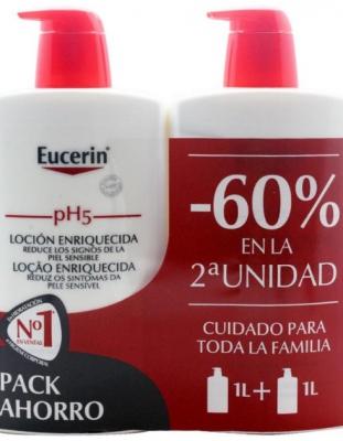 Eucerin pH5 Locion Enriquecida Duplo 2x1000 ml