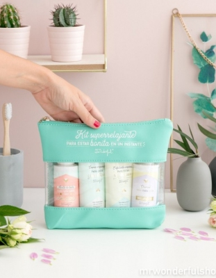 KIT SUPERRELAJANTE PARA ESTAR BONITA EN UN INSTANTE MR. WONDERFUL