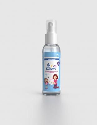 SIEMPRECLEAN KIDS GEL HIDROALCOHOLICO SPRAY 100ML