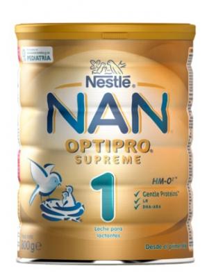 Nestle Nan 1 Optipro Supreme Sin Aceite De Palma 800g