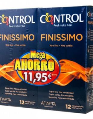 CONTROL ADAPTA FINISSIMO 12+12 UD PACK MEGA AHORRO