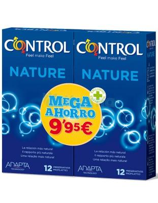 PROFILACTICOS CONTROL NATURE MEGA AHORRO 12+12