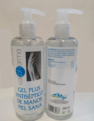 Valpharma Gel Plus Antiséptico de Manos