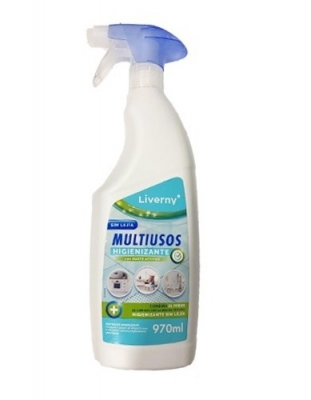 Liverny Multiusos Higienizante sin lejía 970 ml