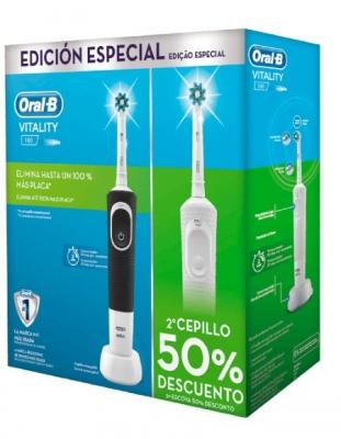 ORAL B PACK VITALITY DUPLO CEPILLO ELECTRICO 2ª UNIDAD AL 50%